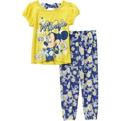 Disney Minnie Mouse Toddler Girls 2 Piece Outfit Size -3T,4T,5T NWT