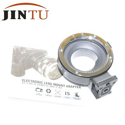 High Speed Auto Focus AF Mount Adapter For Canon EF/EF-S Lens to Micro 4/3 Cam