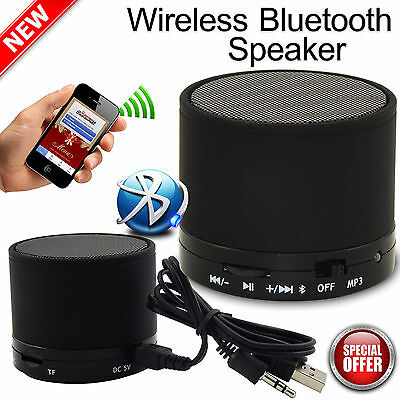 Mini Bluetooth Mp3 Wireless Portable Speaker For Mobile Phones Tablets In BLACK