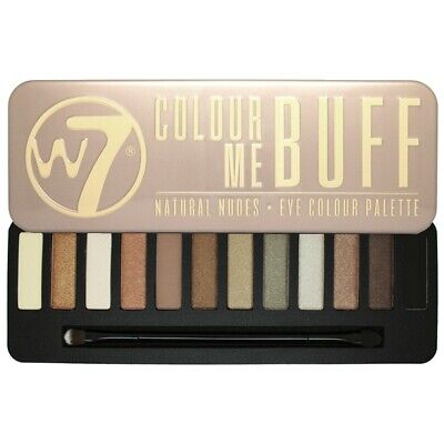 W7 Makeup Make Up Ojo Sombra Paleta Naked Nude Natural Colores - Colour Me Buff