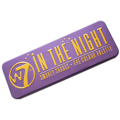W7 Makeup Make Up - Ojo Sombra Paleta Naked Nude Natural Colores - In The Night