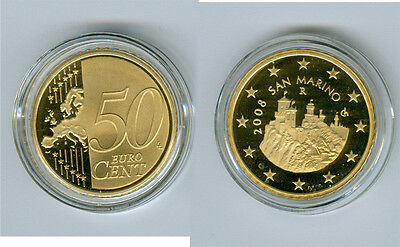 San Marino 50 Cent 2014 PF Only 5.000 Piece
