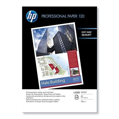 Hp A3 Professional Glossy Paper 120Gsm - 250 Sheets - Cg969A