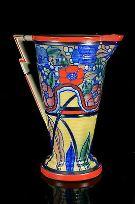 LARGE ART DECO WARDLE POTTERY SWANSEA WARE VIBRANT JUG c.1934