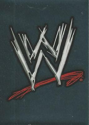 WWE Topps 2009 Rivals Stickers Foil Logo 1