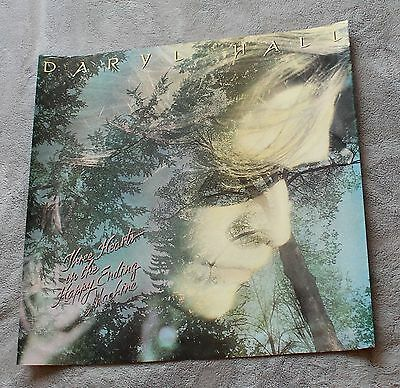 Daryl Hall Three Hearts in the Ending Machine 1986 RCA Records PROMO Poster VG.