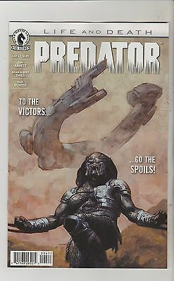 Dark Horse Comics Predator Life And Death #4 June 2016 1St Print Nm