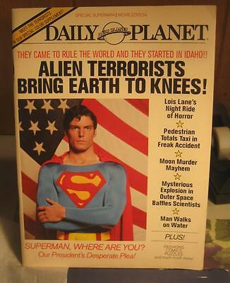 ~DAILY PLANET~SUPERMAN~Special Edition1980/81 Published by Random  Free Ship