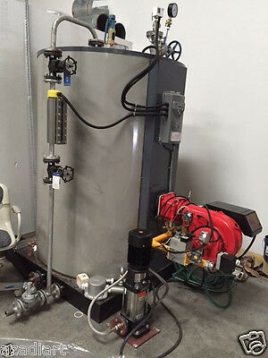 Olympia Natural Gas Fired Steam Boiler