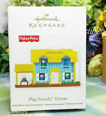 Hallmark FIsher Price Play Family House ornament 2011-QXI2469