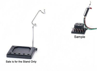 Torch Stand - Smith Little Torch Holder Steel Bracket Slotted For Tips & Igniter