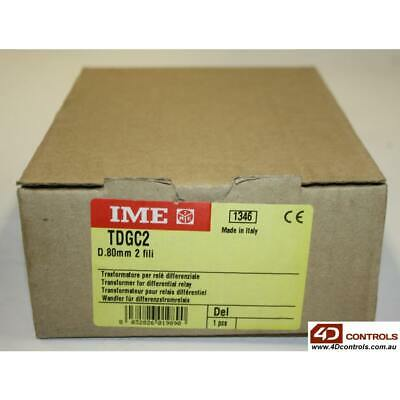 IME TDGC2 ELR TOROID CLOSED CORE 2 WIRE 80MM - min 30mA - New Surplus Sealed