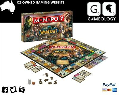 Monopoly - World of Warcraft Edition Board Game