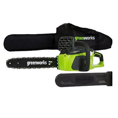 Greenworks 20322 40v 4.0Ah Cordless Chain Saw Brushless ,20322 New