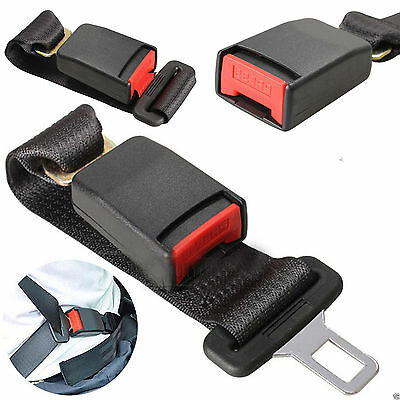 New 36CM ADJUSTABLE CAR AUTO SAFETY SEAT BELT EXTENSION EXTENDER SUPPORT BUCKLE