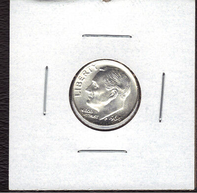 1964-P 90% Silver Uncirculated Roosevelt Dime.