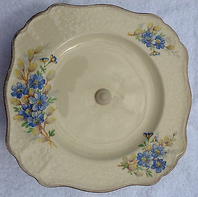 "Cake Stand J & G Meakin ""pussy Willow"" Design Made In England"