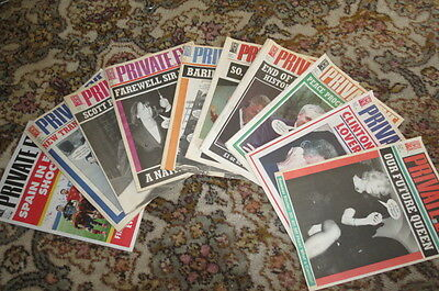 Private Eye Magazine - 20 random issues from 1995 - 2012 Hours of great reading!