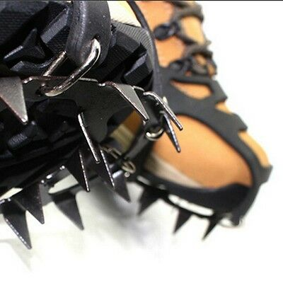 Safety Grippers Snow Ice Grips Treads Over Shoe Boots Cleats Anti Slip Spikes