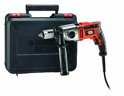 Black & Decker KR1102K Perceuse à percussion 2 vitesses 1.100 W - avec coffret