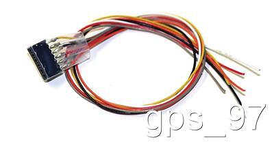 All Scales ESU 51951 Wire Harness  6-pin plug according to NEM 651, 300mm - New
