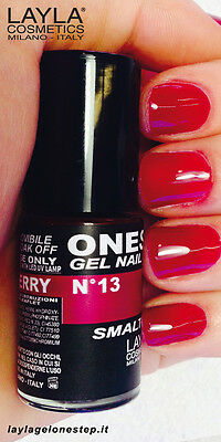 ONE STEP GEL NAGELLACK by LAYLA - MADE IN ITALY - NEW