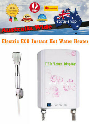 Electric Hot Water Heater Tankless - INSTANT HOT SHOWER