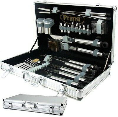 Bbq Tool Set Tools Grill Utensil Barbecue Tong Camping Case Barbeque Garden Fork