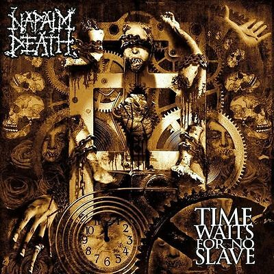 Napalm Death - Time Waits For No Slave - Cd New Sealed 2009