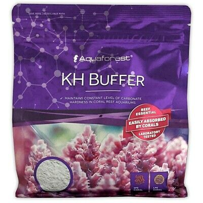 AQUAFOREST KH Buffer 1.2kg MAINTAINS CARBONATE HARDNESS CORAL REEF MARINE TANK