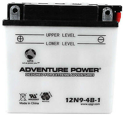 Power Sport Conventional - 12N9-4B-1 - 12 Volts 9 Amp Hrs - 41542