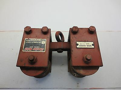 Chester Hoist 1/2 Ton Model Pt Trolley For Curved Beams Or Straight