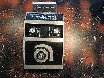 Rare Ampeg Scrambler Fuzz Effects Pedal Incredible Tone Scp-Od Free Us Shipping