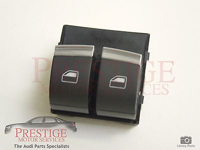 Audi A2 A3 8P A4 B6 Front OS Right Electric Window Switches Twin New 8Z0959851H