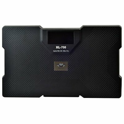 My Weigh Xl-700 Talking Bathroom Scale 700 Lb, 320kg with 3 Weighing Mode, Black