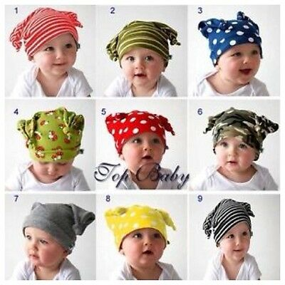 New TOP BABY Newborn Infant Toddler Girl Boy  Cotton Hat Cap Beanies  Photo Prop