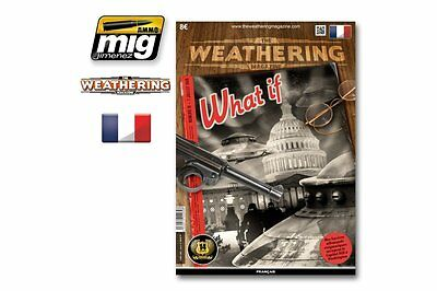 """AMMO OF MIG A.MIG-4264 The Weathering Magazine Issue 15 """"What If"""" (Français)"""