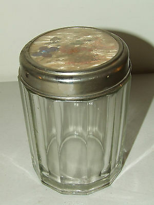 Antique Cut Glass Crystal Victorian Humidor Pipe Cigar Tobacco Jar Butterfly Lid