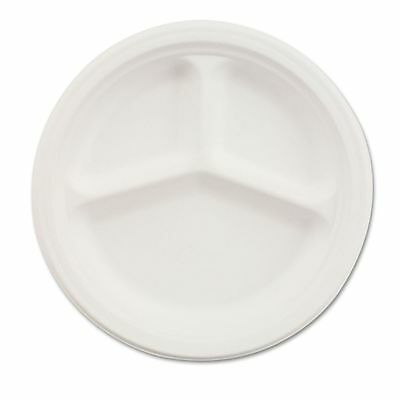 "Chinet 9"" Paper Compartment Plates - HUH21228"