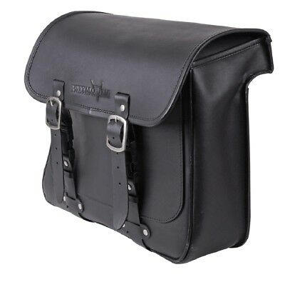 17 Liter Saddlebag right HD Dyna Sport Super Glide with carving for air shock