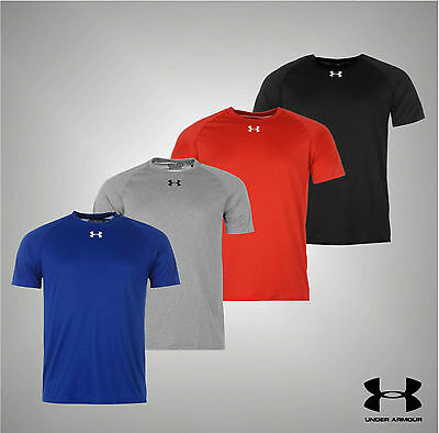 Mens Under Armour Heatgear Keep Cool Locker T Shirt  S-XXL in 6 Cols inc White