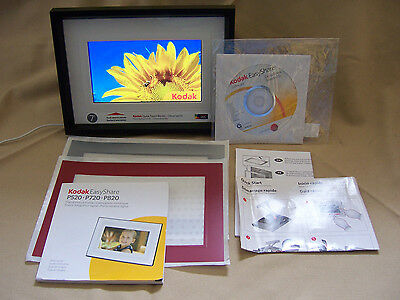 "Kodak Easyshare P720 7"" Digital Picture Frame With Cd And Power Cord"