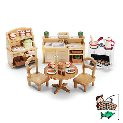 Calico Critters - Deluxe Kitchen Furniture Set - CC2267