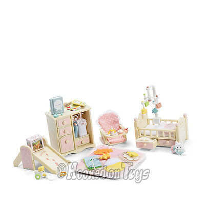 Calico Critters - Baby's Nursery Pink Bedroom Furniture Set - CC2269