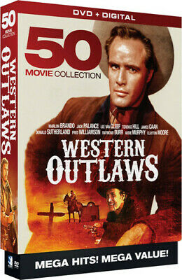 Western Outlaws: 50 MegaPack [New DVD]