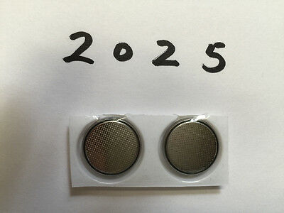 3V CR2025 Battery Button Coin Cell Lithium Batteries for Watch Calculator US x2