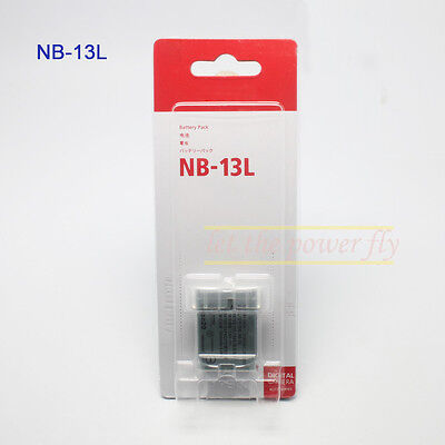 New NB-13L NB13L Replacement Li-Ion Camera Battery for Canon PowerShot G7 X G7X