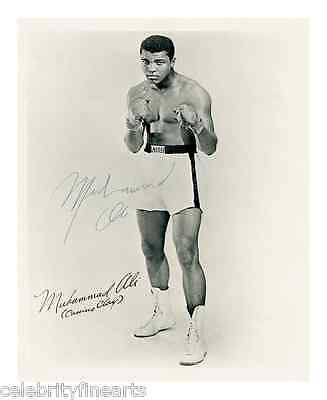 Muhammad Mohammed Ali Preprinted Photo Boxer Cassius Clay World Champ Picture