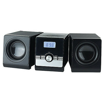 Micro Hi-Fi System M383A with Top loading CD Player & AM/FM radio SR