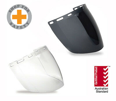 Certified Australian Standard High Impact Face Shield 2mm